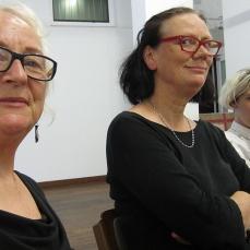 CAF steering committee. Pictured (l-r): Bonita Ely, Elizabeth Day, Kelly Doley