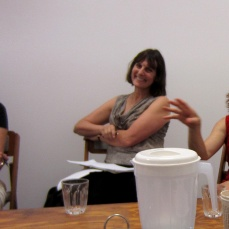 CAF steering committee. Pictured (l-r): Natalie Seiz, Jasmine Stephens, Catriona Moore
