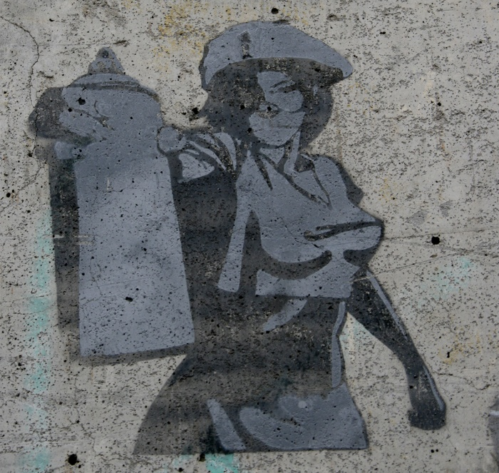 Parisian street art. Pic: jacqueline Millner