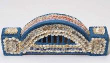 Lola Ryan, Shell-work bridge, 2002, 15 x 37 x 7 cm, CCWA 716o, © courtesy the artist's estate