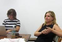 Jane Polkinghorne and Jacqueline Millner